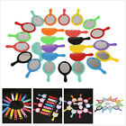 25pcs Hot Colorful Plastic Hair Comb Mirror Holder Set Hair Ornament Supplies L
