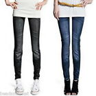 Leggings in denim femmina sottile 90cm
