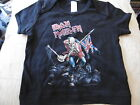 *NEW OFFICIAL* IRON MAIDEN THE TROOPER BLACK T SHIRT 3-6, 6-12 Months