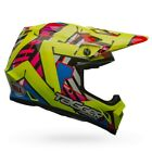 Bell MX-9 MX/Offroad MIPS Helmet Tagger Double Trouble Hi-Viz All Sizes
