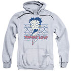 Betty Boop Cartoon Character Icon Zombie Love Pin-Up Adult Pull-Over Hoodie $47.95 USD on eBay