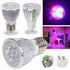 10W E27 GU10 LED Grow Light Blub Full Spectrum Indoor Hydroponic Plant Tent Lamp