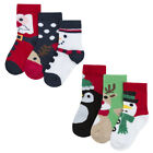 Zest Baby Pack of Festive Christmas Socks