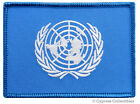 UNITED NATIONS FLAG MILITARY UNIFORM IRAQ WAR PATCH UN embroidered iron-on