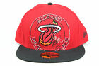 "Miami Heat ""Floridians"" Red / Black Lid Throwback New Era 59FIFTY Fitted Hat EB on eBay"