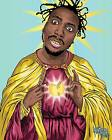 SAINT OL DIRTY BASTARD PARODY T-shirt - CUSTOM RARE ART **FULL FRONT OF SHIRT** image
