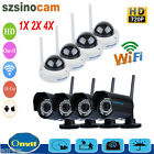 HD 720P Wireless Wifi Network CCTV Security Night Vision IP Camera Webcam ONVIF
