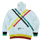 Original Afro White Red Green Hoodie Sweater Big Tall Hooded Mens Black Power