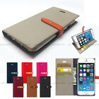 Flip Leather Wallet Case Cover For iPhone 6 6S 7 7 Plus/Galaxy S6 S7 edge/LG G5