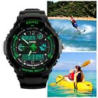 New Mens LED Digital Date Alarm Waterproof Rubber Sports Army Watch Wristwatch <br/> ▒█Holiday Gift✔Quality✔USA SELLER ✔FAST FREE SHIPPING█▒