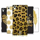 HEAD CASE DESIGNS GRAND AS GOLD HARD BACK CASE FOR SONY PHONES 2