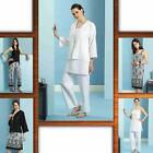 Butteick 4810 Sewing Pattern UC  Misses Loose Fit Jacket Top Tunic Dress Pants