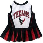 Houston Texans sport dog pet Cheerleader Dress NFL (all sizes) $18.59 USD on eBay