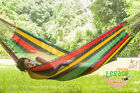 Cotton Mexican hammock in Rasta