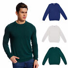 Kyпить Copperside Mens 100% Cotton Crew Neck Sweater Polo Shirt Pullover Sport на еВаy.соm