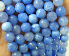Blue Fire Agate Faceted Gemstone Beads~Guaranteed