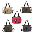 New Women Canvas Shoulder Bag Satchel Crossbody Tote Handbag Purse Messenger TB