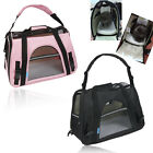 Small Pet Carrier Soft Sided Dog /Cat Comfort Travel Tote Bag Handbag Travel Bag