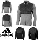 "ADIDAS CLIMAHEAT PRIME FILL QUILTED MENS THERMAL GOLF JACKET TOP ""NEW 2017"""