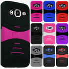 For Samsung Galaxy Luna Hard Gel Rubber KICKSTAND Case Phone Cover Accessory