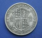 George V Half-Crown 0.925 or 0.500 Silver 1911 to 1936 - Choose your date or gra