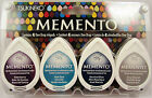 Tsukneko Memento Dew Drop Inkpads 4 Pack - Your Choice of 1 of 13 Ink Pad Sets