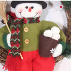 """13"""" Christmas Doll Decoration Santa Claus Snowman Hanging Ornament Gift Toy"""