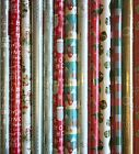 5 - 40 METRES WRAPPING PAPER GIFT WRAP CHRISTMAS BIRTHDAY ROLLS VARIOUS DESIGNS