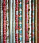 4m - 48m WRAPPING PAPER GIFT WRAP CHRISTMAS BIRTHDAY ROLLS VARIOUS DESIGNS METRE