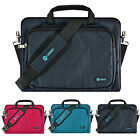 "11.6"" - 12"" Luxury Ultrabook Laptop Sleeve Messenger Handle Bag Pouch Case Cover"