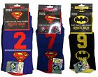 HYP DC COMICS Mens/Boys ATHLETIC CREW SOCKS One Size Fits Most *YOU CHOOSE*