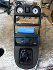 MK 1 MGF CENTRE CONSOLE GENUINE MG WITH ALL MOUNTINGS PRESENT