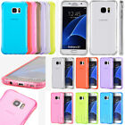 Transparent Bumper Clear Gel Flex Rubber Case For Samsung Galaxy S7 / S7 Edge