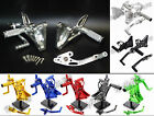Adjustable Rearsets Foot Rest Peg Pedal Rear Set For BUELL XB9R XB9S XB12R XB12S