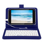 "iRULU 7"" Android 5.1 Lollipop Tablet PC Quad Core 1.3GHZ 1/16GB Pad w/ Keyboard"