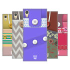 HEAD CASE DESIGNS BUTTON PURSE HARD BACK CASE FOR SONY PHONES 1