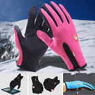 Unisex Touch Screen Waterproof Ski Climbing Outdoor Sports Warm Finger Gloves