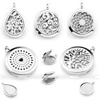 Surgical Steel Aromatherapy Diffuser Hollow Locket Pendants For Chain Necklace