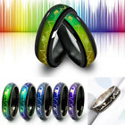 Color Changing Women Men Mood Rings Temperature Emotion Feeling Couples Rings image