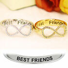 Best Friends Infinity Ring For Women Girls Best Jewelry Gift
