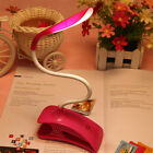 USB Rechargeable Touch Sensor Clip On 14 LED Table Desk Lamp Light Flexible