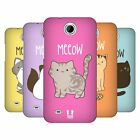 HEAD CASE DESIGNS KITTY CATS HARD BACK CASE FOR HTC DESIRE 300 / ZARA MINI