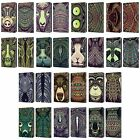 HEAD CASE AZTEC ANIMAL FACES 2 LEATHER BOOK CASE FOR APPLE iPAD MINI 1 2 3