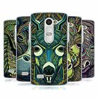 HEAD CASE DESIGNS AZTEC ANIMAL FACES SERIES 6 SOFT GEL CASE FOR LG LEON