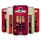 HEAD CASE DESIGNS TELEPHONE BOX SOFT GEL CASE FOR SAMSUNG GALAXY S5 / S5 NEO
