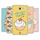 HEAD CASE DESIGNS CUPCAKES SOFT GEL CASE FOR SONY XPERIA M2