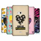 HEAD CASE DESIGNS HEART PATCHES HARD BACK CASE FOR NOKIA LUMIA 625