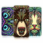 HEAD CASE DESIGNS AZTEC ANIMAL FACES SOFT GEL CASE FOR SAMSUNG GALAXY S6 EDGE+