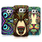 HEAD CASE DESIGNS AZTEC ANIMAL FACES HARD BACK CASE FOR SAMSUNG GALAXY S6