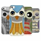 HEAD CASE DESIGNS OWL PATCHWORK SOFT GEL CASE FOR APPLE iPHONE 5C